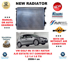 Para VW Golf VI Hatchback Estate Convertible 1.2 1.4 1.8 TSI 2008- > Radiador