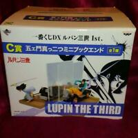 Lupin the 3rd ichiban kuji limited mini bookend figure car split goemon JAPAN