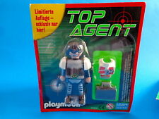 Playmobil Top Agent verde edición limitada agent with suitcase limited edition