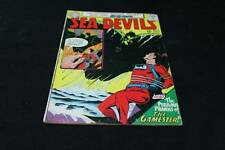 "Vintage "" Sea Devils"" Comic Book DC Comics Collectible Superman Spiderman"