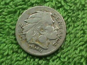 COLOMBIA 10 Centavos 1954 B