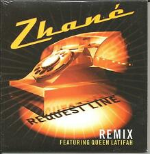 ZHANE w/ QUEEN LATIFAH Request line RARE REMIX LIMITED CARD USA CD Single SEALED