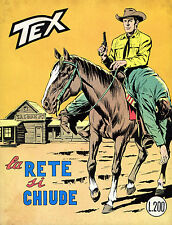 [015] TEX GIGANTE ed. Bonelli 1970 n.  112 stato Ottimo