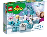 LEGO 10920 DUPLO Frozen II Elsa and Olafs Ice Party Toy