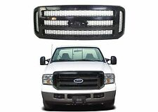 Replacement Black Grill For 2005-2007 Ford F250/F350/Excursion New Free Shipping