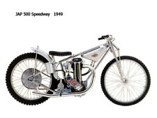 Image of JAP-500-Speedway-1949  On Canvas 16 x 12 inch