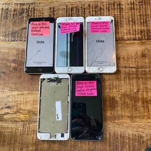 Lot x5 Apple iPhone 6s Plus 16GB, 32GB, 64GB IC L0CK ICL0UD *READ DETAILS* #H409