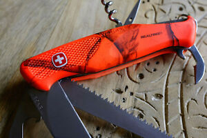 RARE Wenger New Ranger 55 Realtree AP Blaze | couteau suisse sak chasse camo