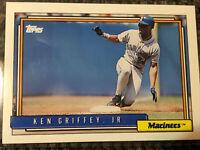 KEN GRIFFEY JR. (HOF) 1992 Topps Card #50 Seattle Mariners in MINT CONDITION!!