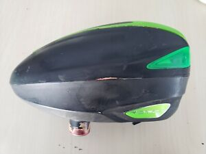 ꙮ Dye Rotor Black & Green Paintball Loader Electronic Hopper