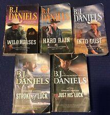 HQN - The Montana Hamiltons & Sterling's Montana - Lot of 5 books - B.J. Daniels