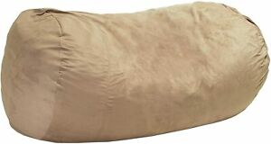David Traditional 8 Foot Suede Bean Bag SKIN ONLY