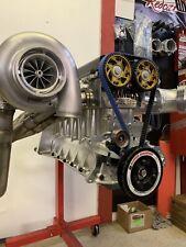 2JZ Billet Block 3000+ HP Drag Race Engine Toyota Supra 3.0 3.2 3.4 Turbo