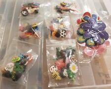 3 bags each containing 10 pcs Croc Shoe Charms Crocs Jibbitz Wristbands Charm