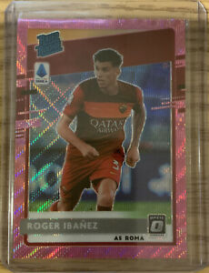 2020-21 Chronicles ROGER IBANEZ Optic Rated Rookie Pink Wave Prizm FOTL #7 4/19