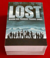 "J J Abrams' ""LOST"" - Season One - COMPLETE BASE SET (90 cards) - Inkworks 2005"