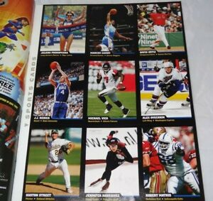 2006 Sports Illustrated For Kids Uncut Sheet Alex Ovechkin Card
