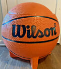 Vintage Wonder Products Wilson Basketball Toy Box W/ Lid Toy Chest Man Cave