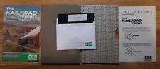 Railroad Works - Commodore 64 - Diskette, Manual, Cardboard Sleeve