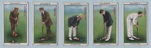 Cigarette Cards - Sports Series (Gallaher Ltd.) - 9 Croquet Cards