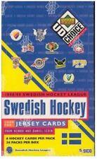 1998-99 UPPER DECK COLLECTOR'S CHOICE SWEDISH LEAGUE HOCKEY BOX