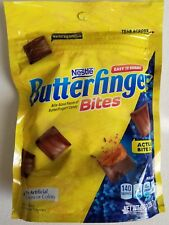 NEW NESTLE BUTTERFINGER BITES CHOCOLATE CANDY 8 OZ BAG FREE WORLDWIDE SHIPPING