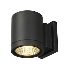 Intalite exterior IP55 ENOLA_C OUT WL wall light round anthracite 9W LED 3000K