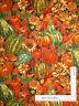 Autumn Pumpkin Squash Leaf *DYE LOT #2* Cotton Fabric Fabriquilt Harvest Yard