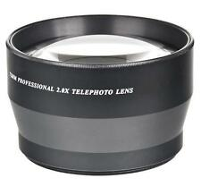 72mm Digital Vision 2x Telephoto Lens For Sony DSC-RX10 IV, DSC-RX10 III