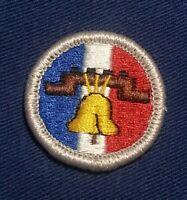 LOGO BACK  A01681 BSA OCEANOGRAPHY Merit Badge Type J 2002-2010