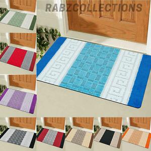 Kitchen Floor Mat Non Slip Rubber Back Water Absorbent Washable Rug Soft Mat