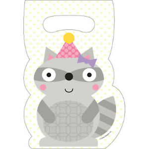 Happi Woodland Girl Forest Animals Party Supplies Treat Bags