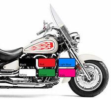 2 X 117 depósito de combustible de Llama Fuego Motor De Moto De VINILO DECAL STICKER MOTO BIKE