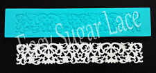 Silicone VENETIAN CAKE LACE Mat / Mold for Edible Sugar Lace FREE Shipping