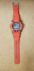 Casio G-Shock RESCUE RED G-7900A - Mens Watch Tide Moon EX