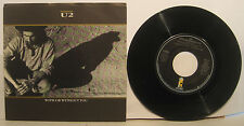 "U2 ""With or Without You"" Island 45rpm w/ PS NM 1st ed hard stock picture sleeve"