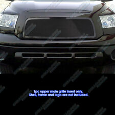Fits 07-09 Toyota Tundra Black Stainless Mesh Grille Insert