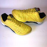 Reebox Mens CrossFit Nano 3.0 V59936 Size 10.5 CF74 Yellow Black UK 9.5 EUR 44