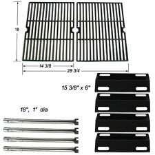 Ducane 4 Burner Gas Grill 4100 Replacement Burners,Heat Plates,Cooking Grates