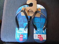 Quiksilver 'Little Molokai' Flip Flop Style Sandals UK 3.5 EU 36 Blue Mix BNWT