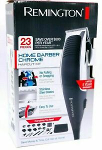 Remington 23 Piece Home Barber Haircut Kit, Clippers, Black/Grey
