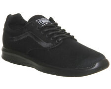 Vans ISO 1.5 Triple Black UltraCush Mens Skate Shoes
