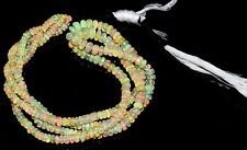 """1 Necklace 3.5to6.5 mm16"""" Beads Natural Genuine Ethiopian Welo Fire Opal** 28"""