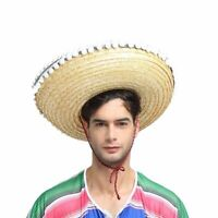 Mexican Straw Hat Mini Sombrero Carnival Costume Adult Cowboy Western Fiesta
