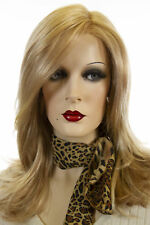 Miranda 24B/22 Blonde Medium Lace Front Monofilament Jon Renau Wavy Wigs