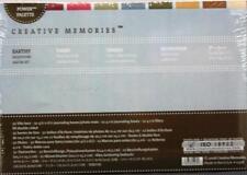 Creative Memories Earthy Milestones Album Kit / Photo Mats