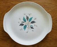 "Grant Crest MCM 'Sunrise' Large 13"" Ovenproof Serving Platter Leaf Design"