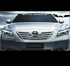 camry toyota vinyl decal sticker window windshield banner all years and models