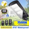900-1900W LED Lampione Stradale Faro LED Pannello Solare Telecomando Sensor Luce