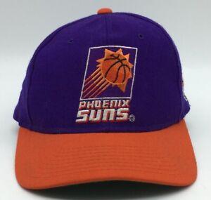 Vintage hat starter Phoenix Suns NBA 90s 1990s fitted 7 1/8 Plain Logo NBA Cap